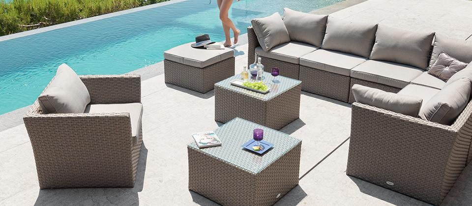Best Salon De Jardin Bargino Hesperide Contemporary - House ...