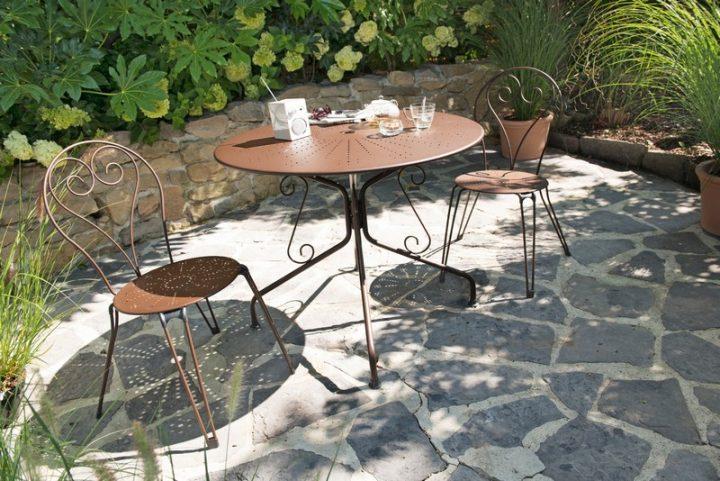 Salon de jardin aluminium fermob - Mobilier de jardin et terasse