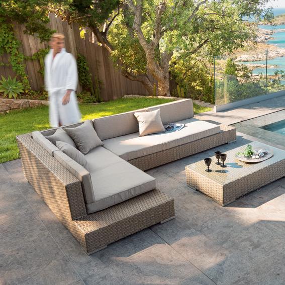 Promotion salon de jardin tressé - Mobilier de jardin et terasse