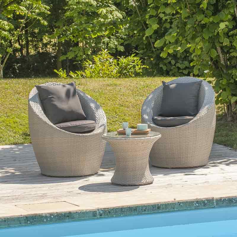 salon de jardin totem mobilier de jardin et terasse. Black Bedroom Furniture Sets. Home Design Ideas