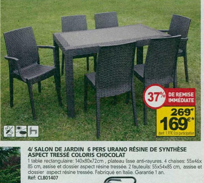 Beautiful Salon De Jardin Urano Taupe Photos - House Design ...