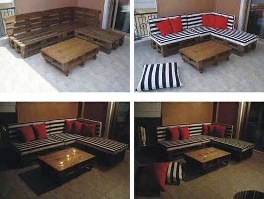 salon de jardin faire soi m me mobilier de jardin et terasse. Black Bedroom Furniture Sets. Home Design Ideas
