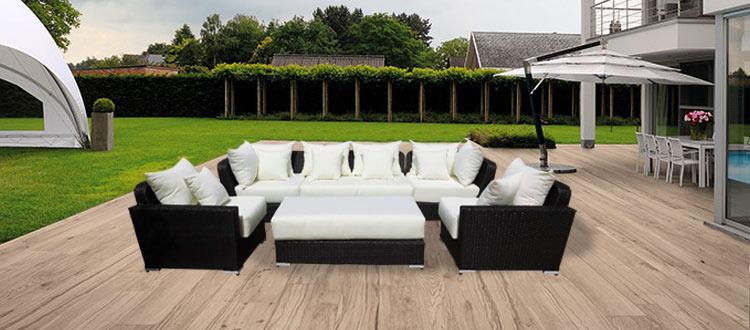 Mobilier De Jardin Moderne - Maison Design - Caneleta.com