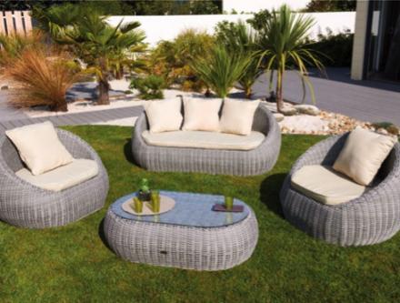 Jardin mobilier exterieur