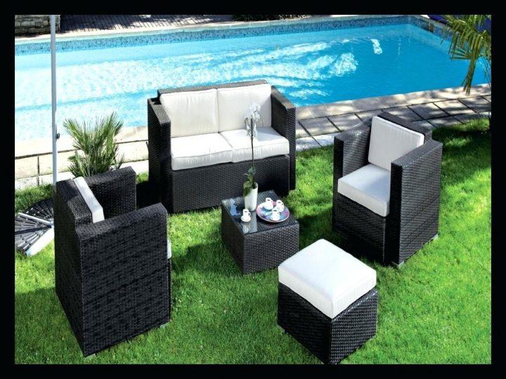 Salon de jardin oceo aluminium fiero - Mobilier de jardin et terasse