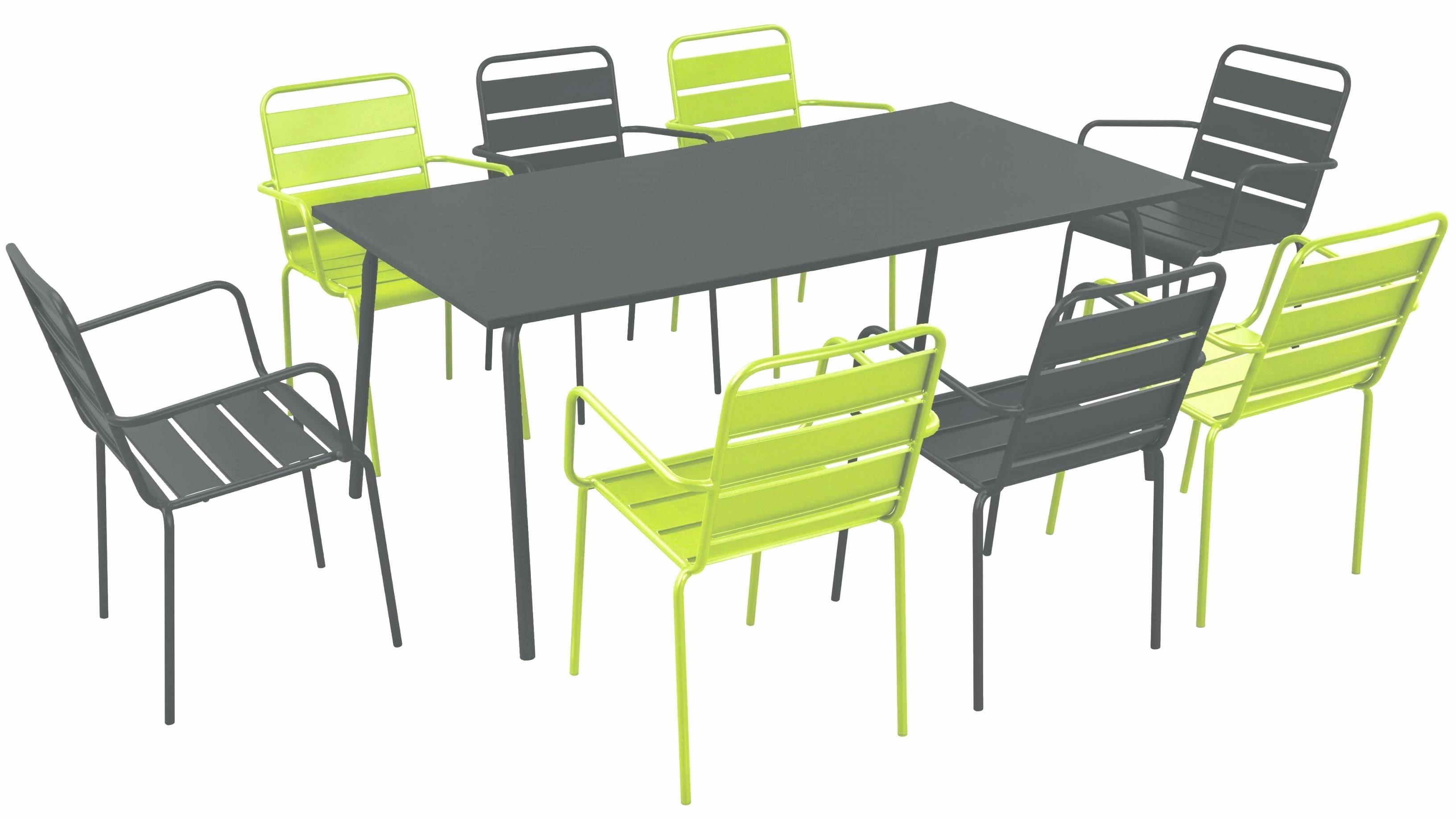 Table salon de jardin pas cher
