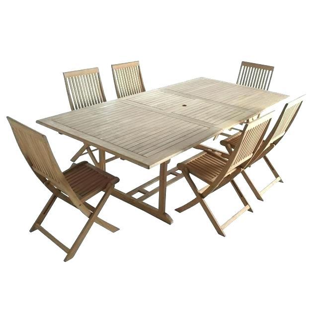 Ensemble table et chaise de jardin solde
