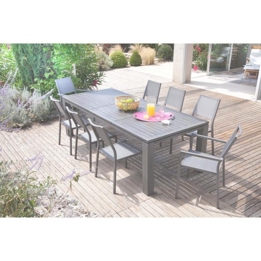 Salon de jardin oceo aluminium fiero - Mobilier de jardin et ...