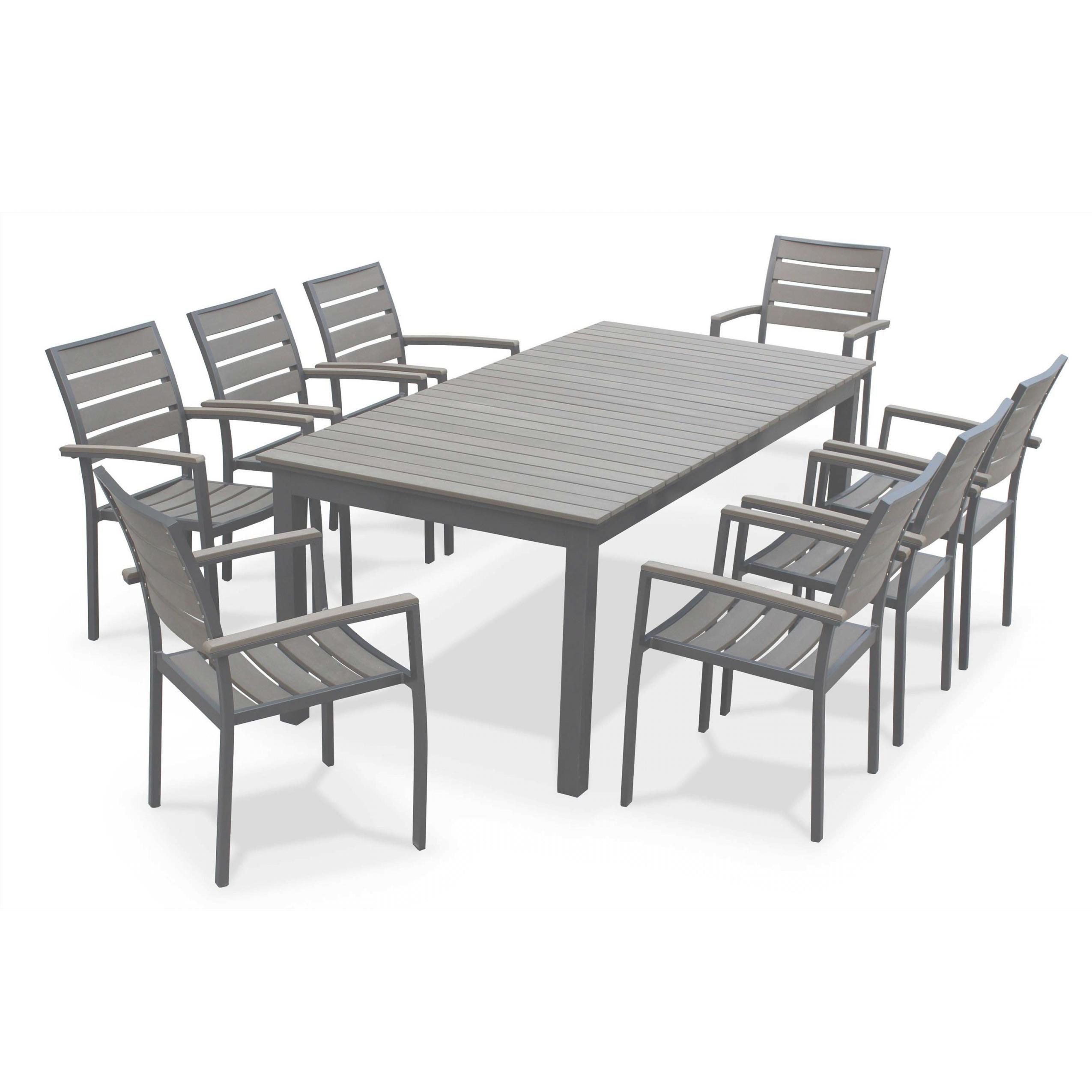 salon de jardin aluminium oogarden mobilier de jardin et. Black Bedroom Furniture Sets. Home Design Ideas