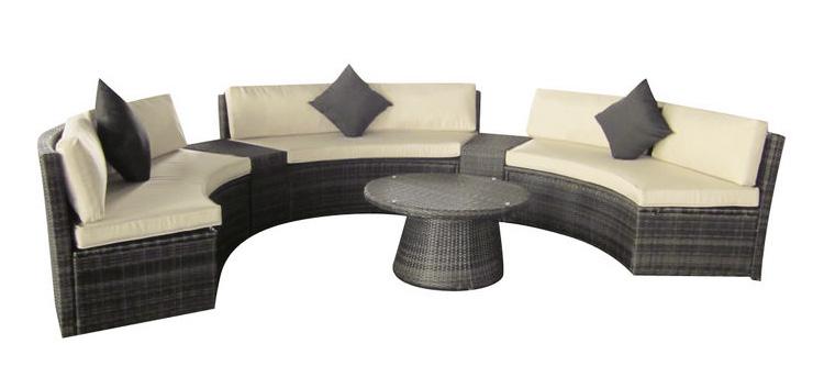 salon de jardin arrondi mobilier de jardin et terasse. Black Bedroom Furniture Sets. Home Design Ideas